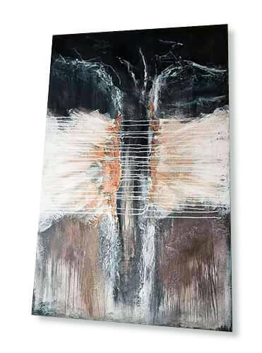 © markus busch | Künstler Saarland, abstrakter expressionismus, kunst aus dem Saarland, moderne kunst saar, abstrakte kunst, modern art, exclusive Interieurs, wandbild mit blattgold, gemälde mit gold, silber, kupfer